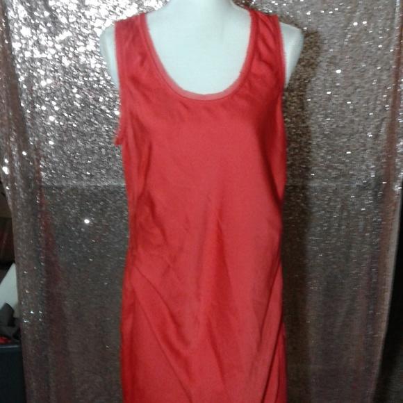 MICHAEL Michael Kors Dresses & Skirts - NWOT Michael Kors Coral Raw Hem Shift Dress SZ L